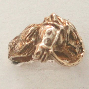 14-131 $525 wider heavy bridled horse ring